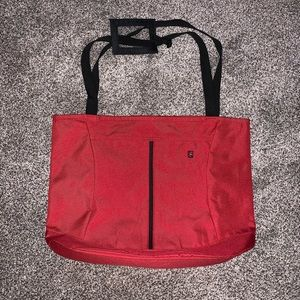 Victorinox Red Shopper tote